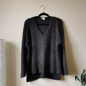 H&M Oversized V Neck Sweater